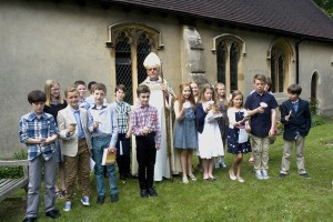 Pic-Confirmation with Bishop John Wraw in 20130519-0